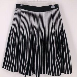 Anthropologie Maeve Vertical Stripe Skirt Sz 14